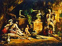 The Irish Whiskey Still , 1840, wilkie