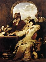 Josephine and the Fortune Teller, 1837, wilkie