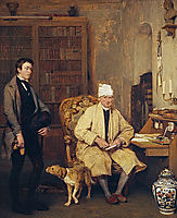 The letter of introduction, 1813, wilkie