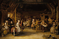 The Penny Wedding, 1818, wilkie