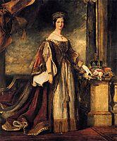 Queen Victoria (detail), 1840, wilkie