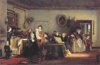 Reading the Will , 1821, wilkie