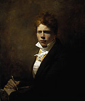 Self Portrait aged about 20, wilkie