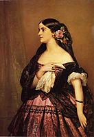 Adelina Patti, 1863, winterhalter