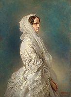 Alexandra Feodorovna, 1856, winterhalter