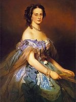 Alexandra Iosifovna, Grand Duchess of Russia, Princess Alexandra of Altenburg, winterhalter