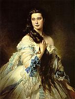 Barbara Dmitrievna Mergassov-Rimsky-Korsakova , 1864, winterhalter