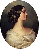 Charlotte Stuart, Viscountess Canning, 1849, winterhalter