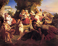 Il dolce Farniente, 1836, winterhalter