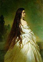 Elisabeth Kaiserin von Österreich, 1865, winterhalter