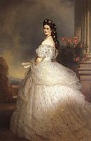 Elizabeth, Empress of Austria, 1865, winterhalter