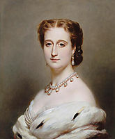 Eugénie, Empress Consort of the French, 1864, winterhalter
