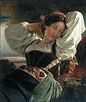 Girl from Sabin Mountains, 1840, winterhalter
