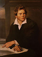 Karl Josef Berkmuller , 1830, winterhalter