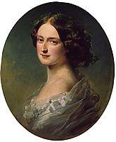 Lady Clementina Augusta Wellington Child Villiers, 1857, winterhalter