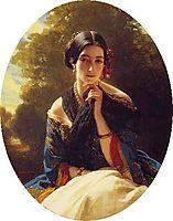 Leonilla Wittgenstein, 1849, winterhalter