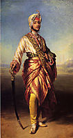 The Maharaja Dalip Singh, 1854, winterhalter