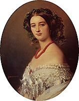 Maria Louise of Wagram Princess of Murat, 1854, winterhalter