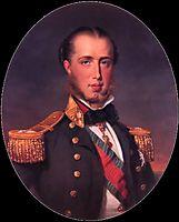 Maximiliaan van Oostenrijk, winterhalter