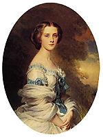 Melanie de Bussiere, Comtesse Edmond de Pourtales, 1857, winterhalter
