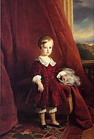 Painting of the Count of Eu as a child, winterhalter