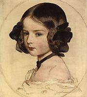 Pincess Clothilde von Saxen Coburg, 1855, winterhalter