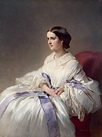 Portrait of Countess Olga Shuvalova, 1858, winterhalter