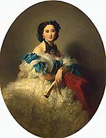 Portrait of Countess Varvara Musina-Pushkina, winterhalter