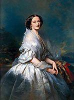 Portrait of Eliza Franciszka of Branicki Krasińska, 1857, winterhalter
