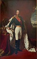 Portrait of Emperor Napoleon III , 1855, winterhalter