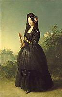 Portrait of Infanta Luisa Fernanda of Spain, Duchess of Montpesier, c.1847, winterhalter