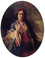 Portrait of Katarzyna Potocka, 1854, winterhalter