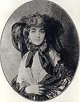 Portrait of Katarzyna Potocka née Branicka, wife of Adam Potocki, c.1850, winterhalter