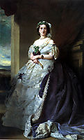 Portrait of Lady Middleton , 1863, winterhalter