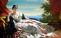 Portrait of Leonilla, Princess of Sayn Wittgenstein, 1843, winterhalter