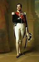 Portrait of Leopold I of Belgium, 1846, winterhalter