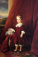 Portrait of Louis d-Orleans, 1845, winterhalter