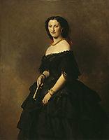 Portrait of Princess Elizaveta Alexandrovna Tchernicheva, 1857, winterhalter