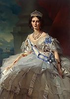 Portrait of Princess Tatiana Alexanrovna Yusupova, 1858, winterhalter