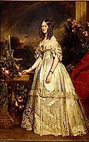 Portrait of Princess Victoria of Saxe Coburg and Gotha, 1840, winterhalter
