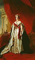Portrait of Victoria of the United Kingdom, 1843, winterhalter