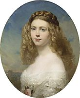 Princess Amelia of Bavaria, 1860, winterhalter