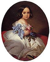 Princess Charlotte of Belgium, 1842, winterhalter