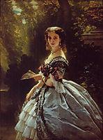 Princess Elizabeth Esperovna Belosselsky , 1859, winterhalter
