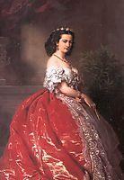 Princess Mathilde Bonaparte, winterhalter