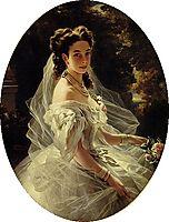 Princess Pauline de Metternich, 1860, winterhalter