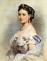 The Princess Victoria, Princess Royal as Crown Princess of Prussia in 1867, 1867, winterhalter