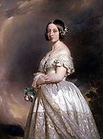 Queen Victoria , 1842, winterhalter