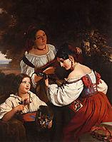Roman Genre Scene, 1833, winterhalter