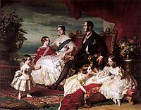 The Royal Family in 1846, 1846, winterhalter
